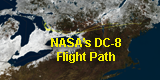 link to gallery item DC-8 Flight Path for GCPEx