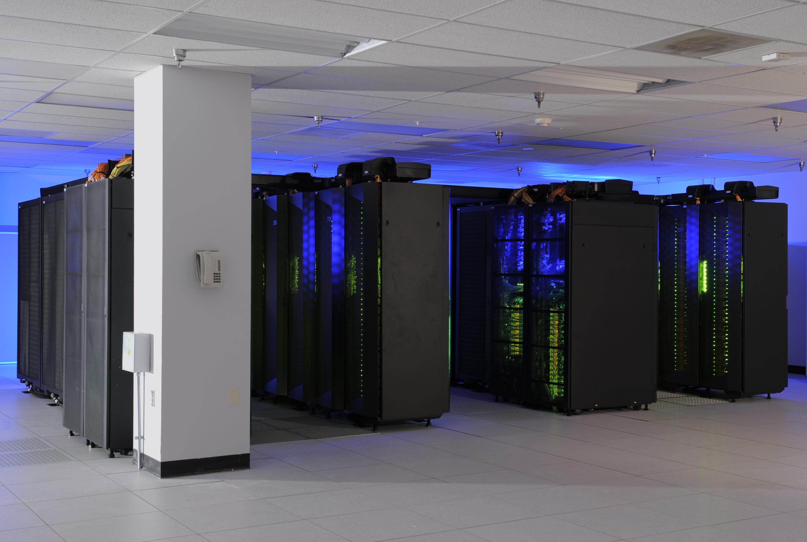 Titan supercomputer screen