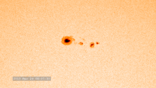 link to gallery item Sunspots