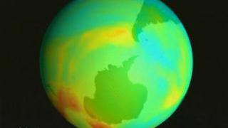 Link to Recent Story entitled: Total Ozone over Antarctica from TOMS: July 1, 1998 through October 1, 1998 (With Dates)