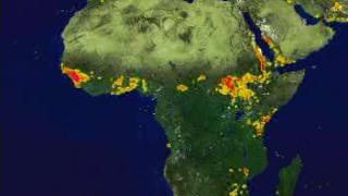 Link to Recent Story entitled: AVHRR Fire Data over Africa: April 1992 through December 1993 (1 month/second)