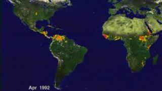 Link to Recent Story entitled: AVHRR Semi-Global Fire Data: April 1992 through December 1993 (1 month/second)