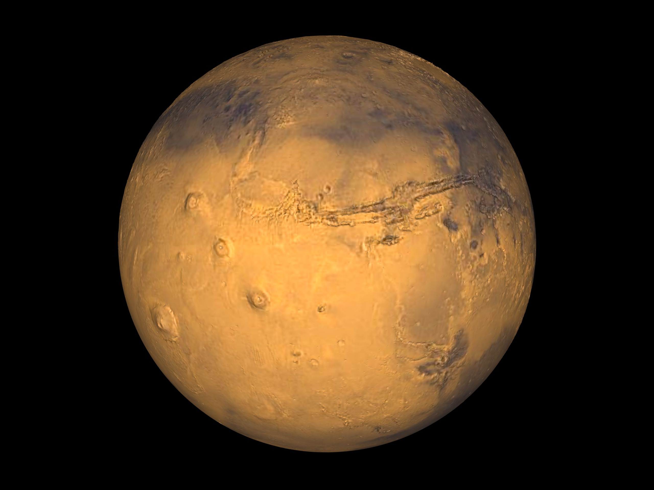 SVS: Mars Rotate (True Color)