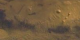 Push in and spin around Tharsis rise on a flat map of Mars MOLA topography with Viking true color