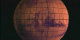 Mars true color Viking sphere rotating to Polar Lander site in MOLA false color