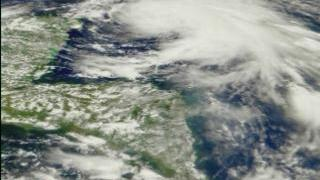 Link to Recent Story entitled: Pan across Hurricane Irene from SeaWiFS: October 14, 1999