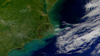 Link to Recent Story entitled: Carolina Coast from SeaWiFS: September 17, 1999