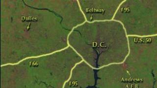 Link to Recent Story entitled: Growth of Washington D.C. Metro Area: Roadways Labeled