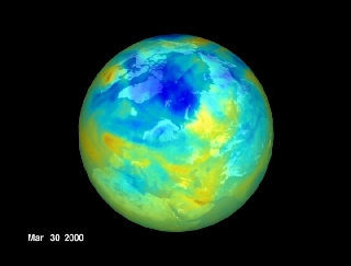 natural processes and the ozone levels in Furthermore, future levels of bromine and chlorine depend upon natural processes removing these gases from the atmosphere as they have in the past, despite changes in atmospheric temperatures, circulation, etc.