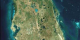 Viewing Earth from space, the Landsat 7 satellite takes images of the Earth, which allows us to look at land changes such as; urban growth, deforestation, and overall changes in the Earth itself. Here is a Landsat 7 image of Tampa, Florida.