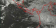 Clouds over the Pacific Ocean and Latin America on August 2, 2000, as measured by GOES-11