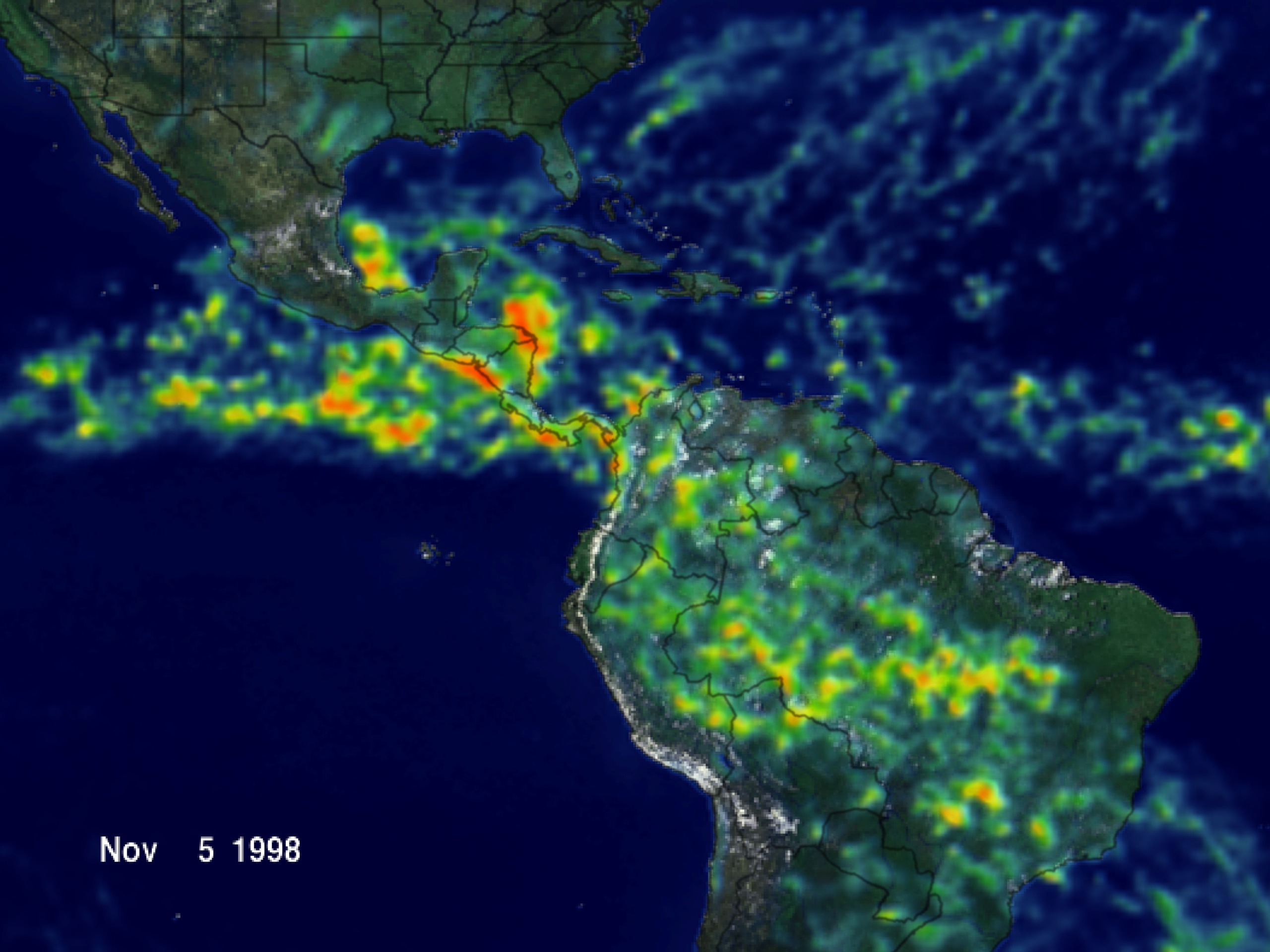 hurricane mitch What happened: hurricane mitch, one of the most deadly atlantic storms in history, tore across central america causing flooding and landslides nicaragua and honduras bore the brunt.