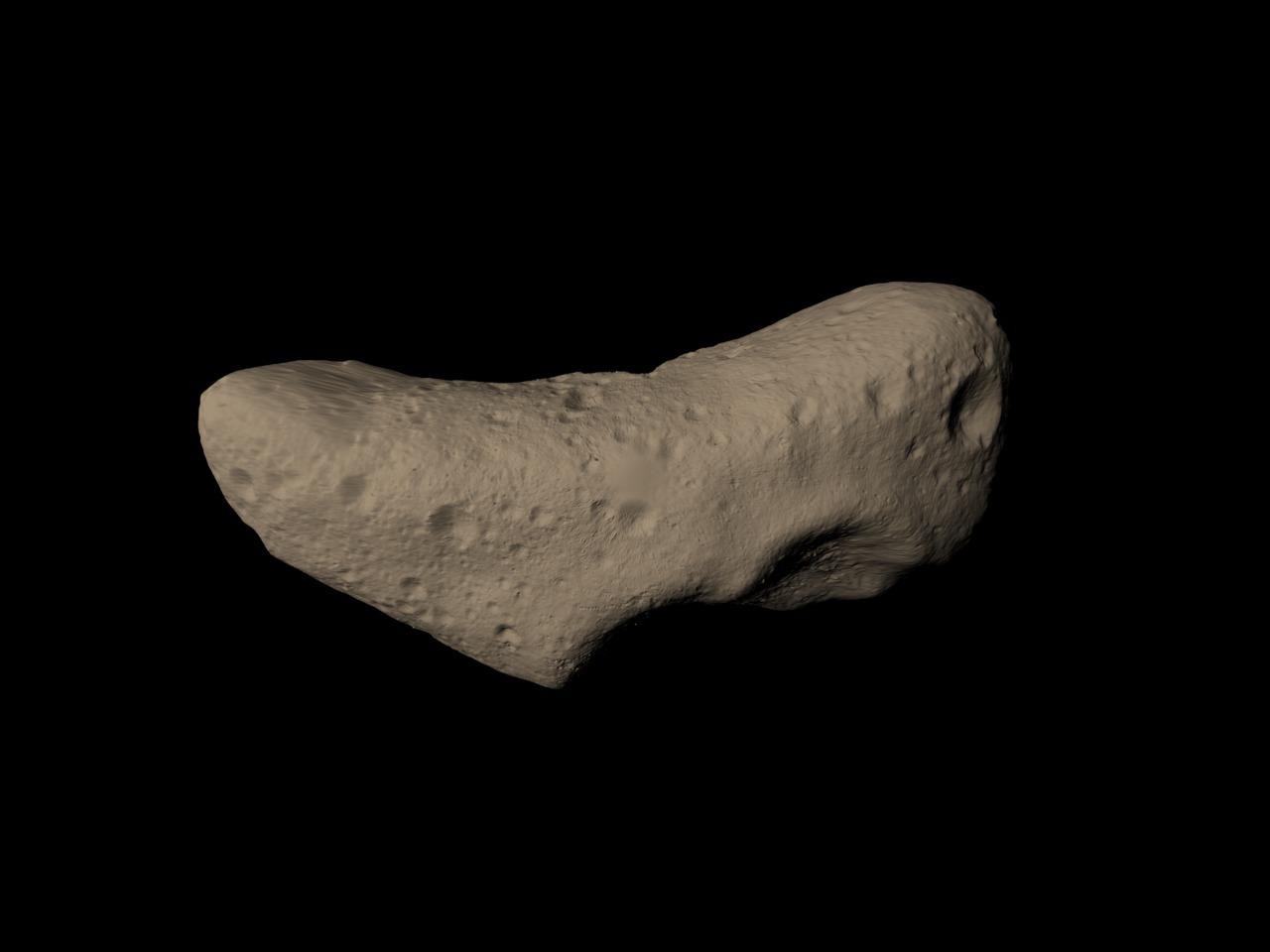 SVS: NEAR Views the Asteroid Eros ('True' Color)