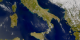Wide view of Sicily, notice the large plume.