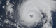 Hurricane Erin as seen by MODIS