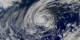 A close up of Hurricane Olga, from the SeaWiFS Instrument.