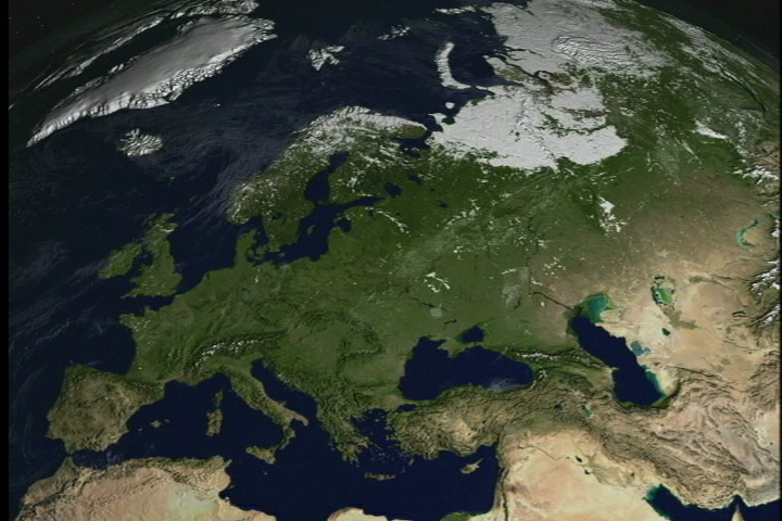 Snow Cover Map Europe.Svs Modis Snow Cover Over Europe