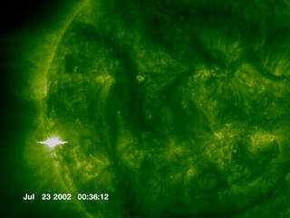 The Sun delivered a grand slam of its own, blasting four of its most powerful class of solar flares in just eight days.
