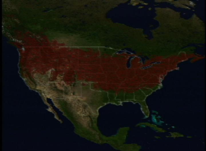 SVS Mosquito Distribution Maps - Us mosquito population map
