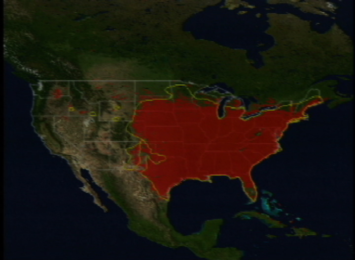 SVS Mosquito Distribution Maps - Mosquito map us