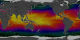 This animation show a year in the life of global ocean temperatures, June 2, 2002 to May 11, 2003. Green indicates the coolest water, yellow the warmest. The Advanced Microwave Scanning Radiometer (AMSR-E) on the Aqua satellite saw through the clouds to provide sea surface temperatures.