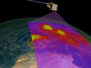 Aura Story: Aura will launch on June 19, 2004. Image demonstrating how Aura will collect data.