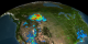 Air quality from EPA and MODIS on 1 September 2003
