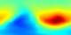 This animation shows temperature in the atmosphere from August 13 through October 15, 2004. Red represents higher temperatures; blue represents lower temperatures. The spatial resolution is low: each pixel covers an area of 5 degrees longitude by 2 degrees latitude, so the entire world (except for 1 degree at each pole) is covered by the 72x89 pixel images.  This  product is available through our Web Map Service .