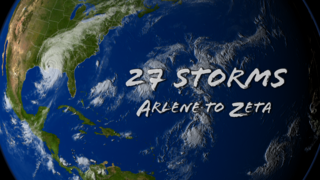 Link to Recent Story entitled: 27 Storms: Arlene to Zeta