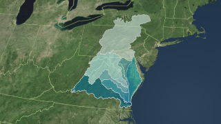 Link to Recent Story entitled: Chesapeake Bay Flyover and Watershed Region