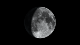 This animation shows evidence of high concentrations of hydrogen at the south pole of the Moon.
