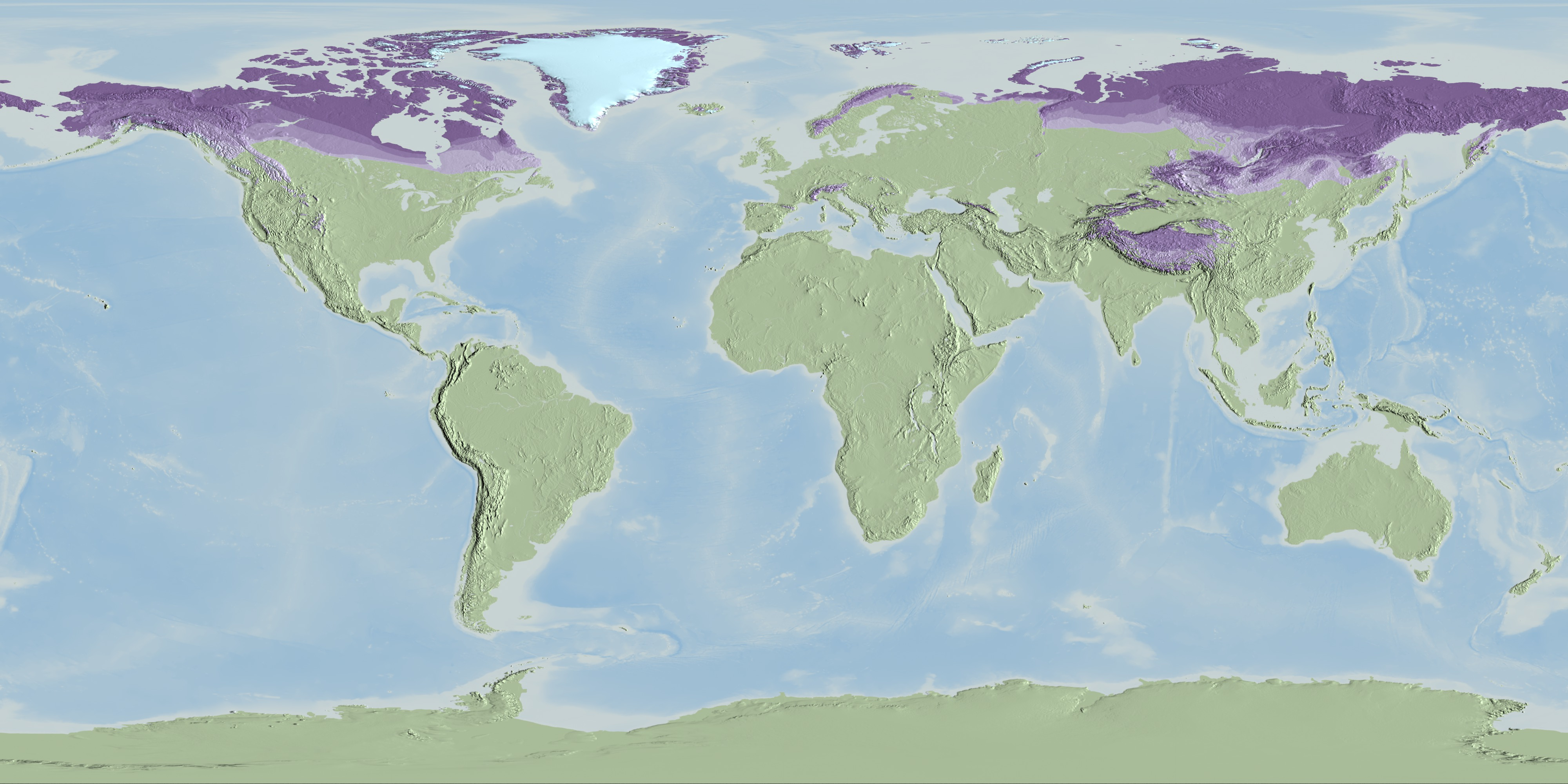Svs Global Permafrost Layers Designed For Science On A