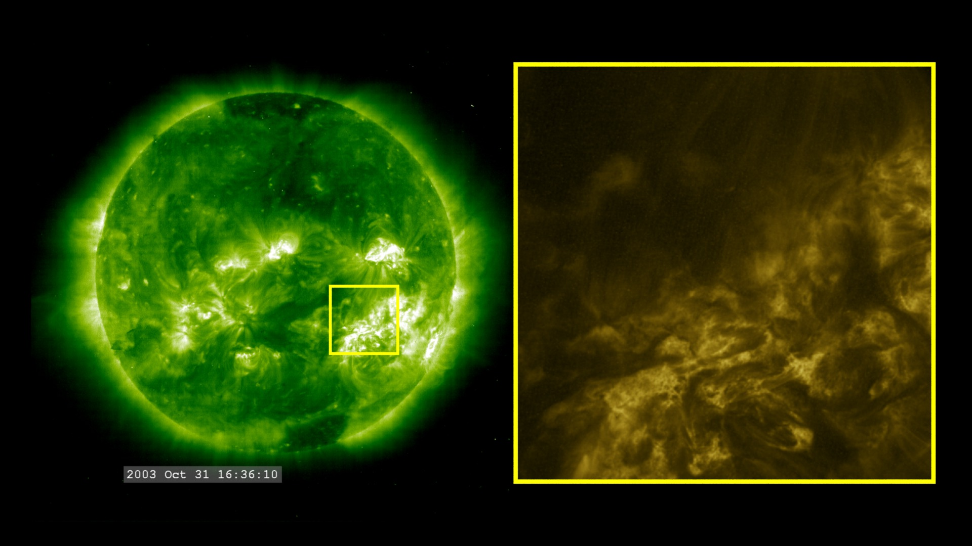 SVS: Halloween Storms 2003: SOHO/EIT and TRACE at 195 ...