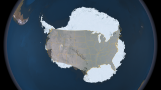 Link to Recent Story entitled: Compare the Size of Antarctica to the Continental United States
