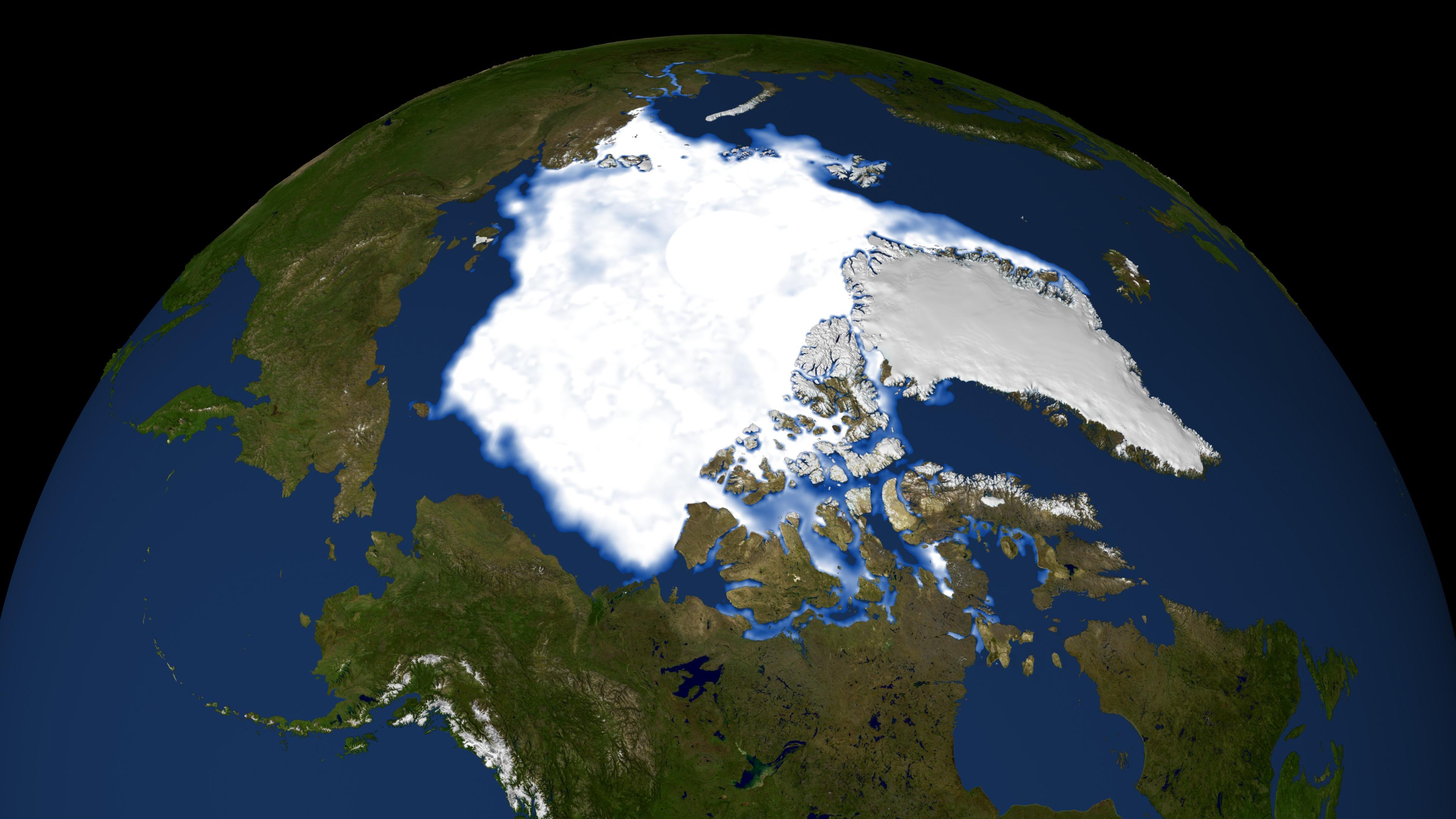 polar ice cap nasa - photo #44