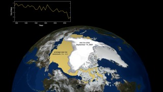 Link to Related Story entitled: September 2007 Arctic Sea Ice vs 1979-2007 Average with Graph of 1979 to 2008 Ice Areas