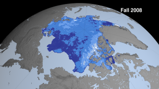 Link to Recent Story entitled: Fall Arctic Sea Ice Thickness Declining Rapidly