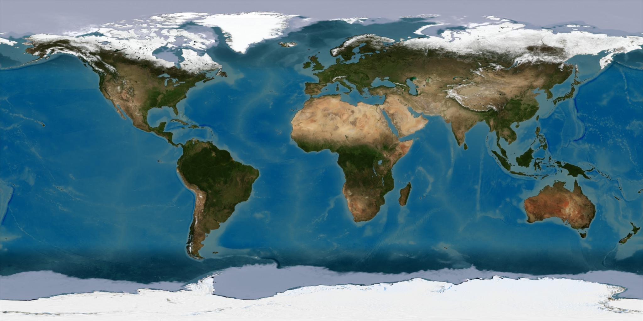 flat earth nasa satellite - photo #27