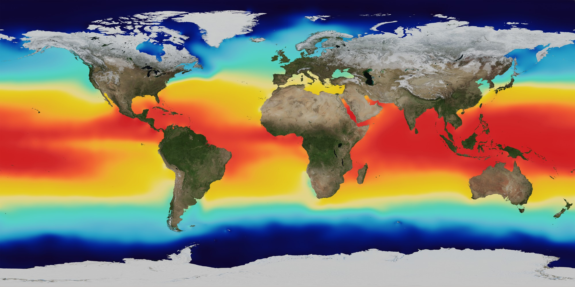 Svs Sea Surface Temperature Salinity And Density