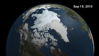 Link to Recent Story entitled: Arctic Sea Ice Minimum Extent for 2010