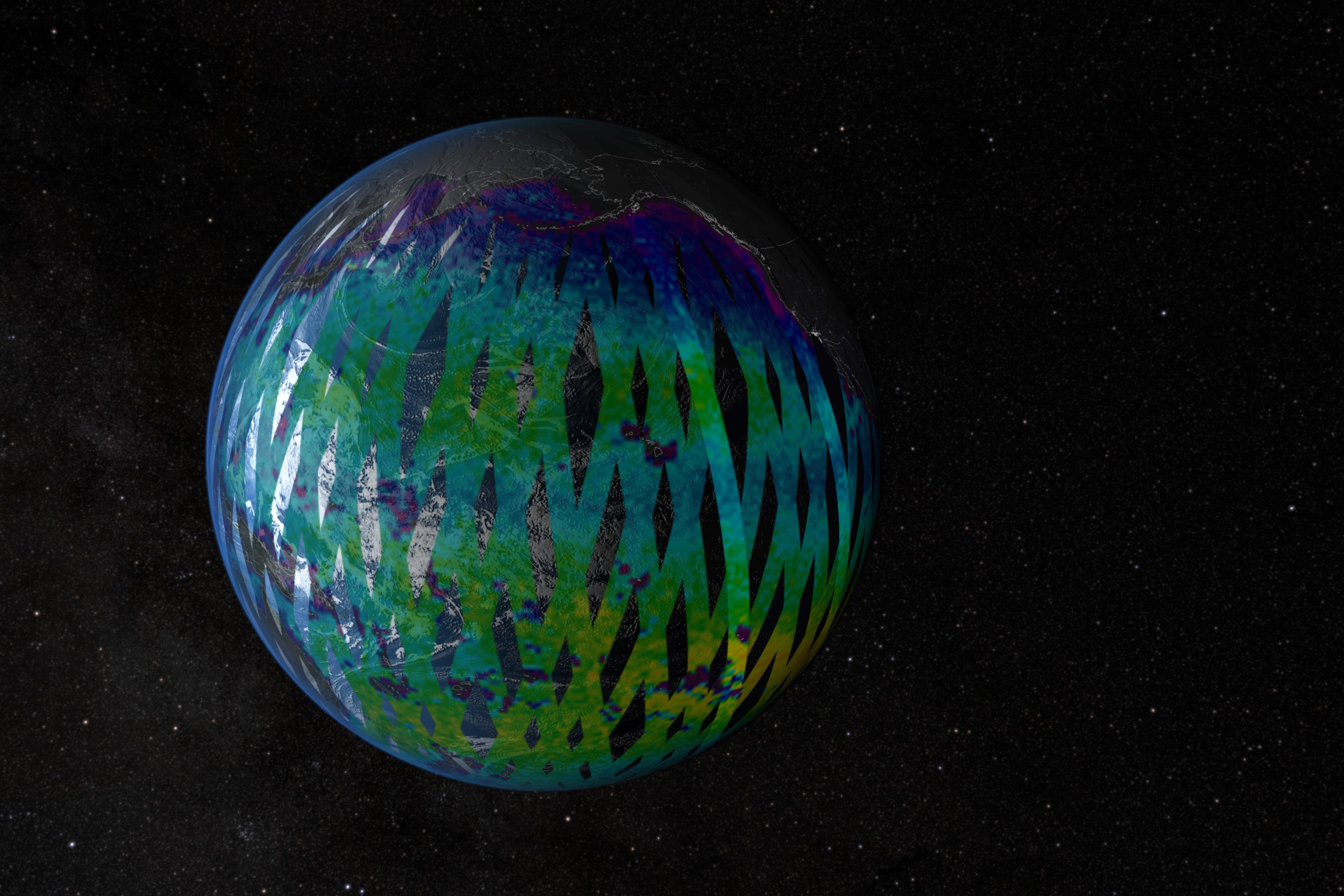 SVS: Aquarius Satellite & Data Pre-launch Beauty Shot