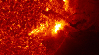 Link to Recent Story entitled: Extreme Solar Eruption Caught On Camera