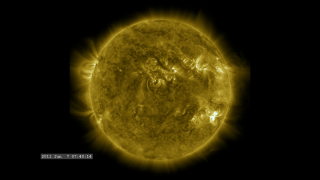 Link to Recent Story entitled: Incredible Solar Flare, Prominence Eruption and CME Event (171 angstroms)