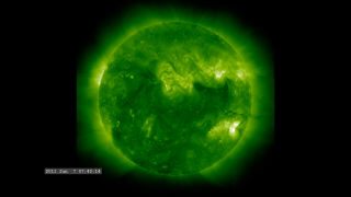 Link to Recent Story entitled: Incredible Solar Flare, Prominence Eruption and CME Event (211 angstroms)