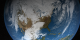 Animation of simulated clouds over North America.