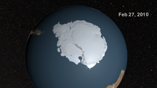 Link to Recent Story entitled: Seasonal Antarctic Sea Ice