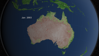 Link to Recent Story entitled: Australia Fire Observations and MODIS NDVI