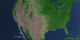 This animation shows fires over NDVI over the United States from July 2002 through July 2011.