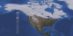 Visualization of North America Snow Cover Map for the period of July 1, 2009 - March 11, 2012.