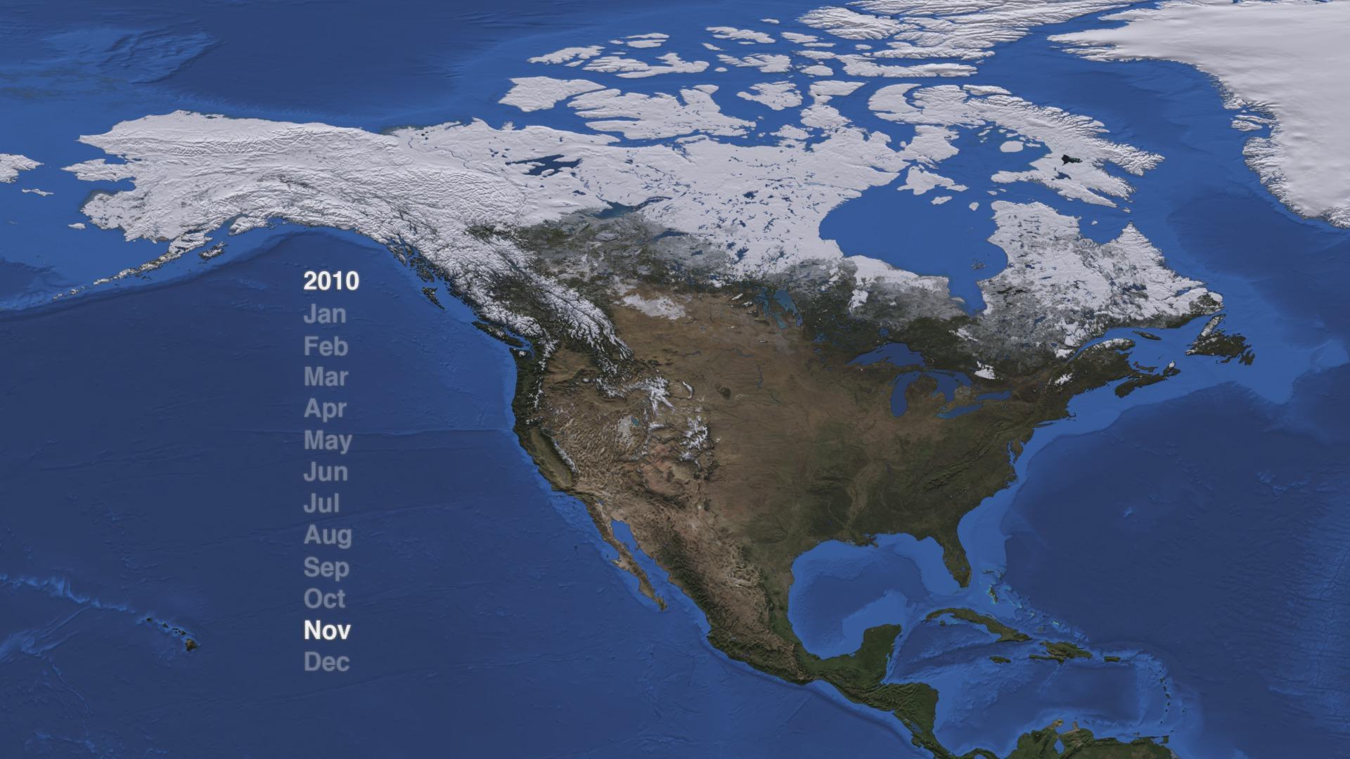 SVS North America Snow Cover 2009 2012